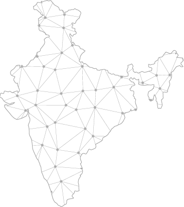 Networks all over India